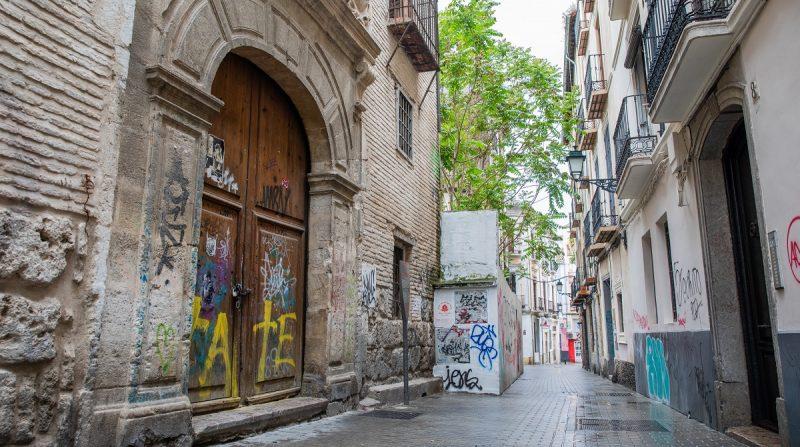 Granada en ruinas